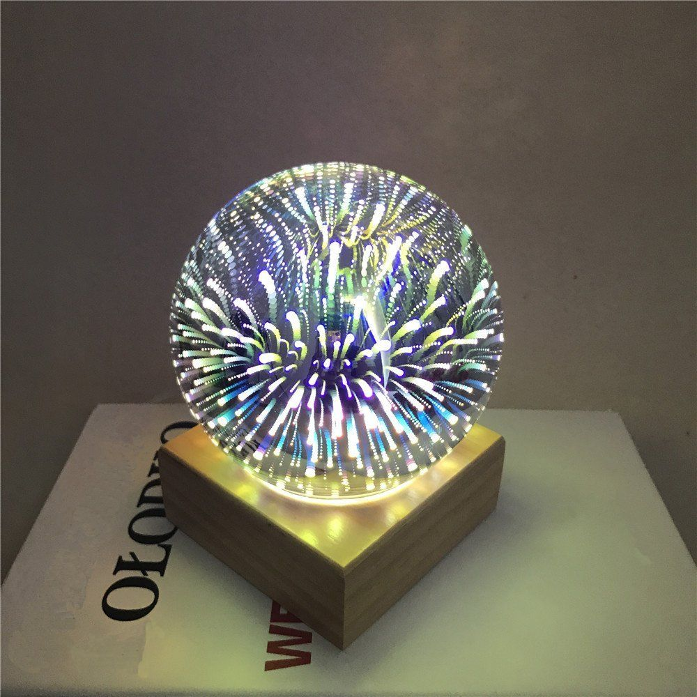 Colorful 3d Magic Led Night Light Lamps Decorative Moon Light Fireworks Table Desk Lamp Baby Night Light For Bedrooms Lamp 3d Led Night Light Night Light Lamp