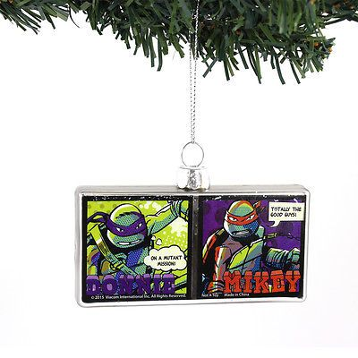Tmnt #ninja turtles kurt #adler #glass ornament gift boxed tm4154,  View more on the LINK: http://www.zeppy.io/product/gb/2/171947850039/