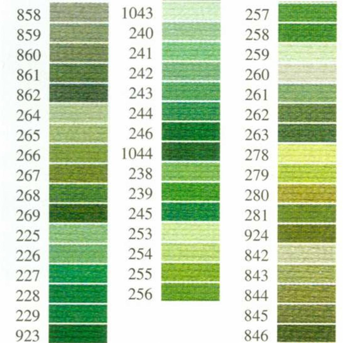 Anchor-Sticktwist grün | in doubt add ten colors | Pinterest