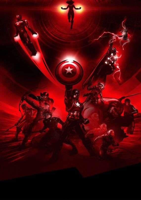 Avengers Endgame Marvel Artwork poster