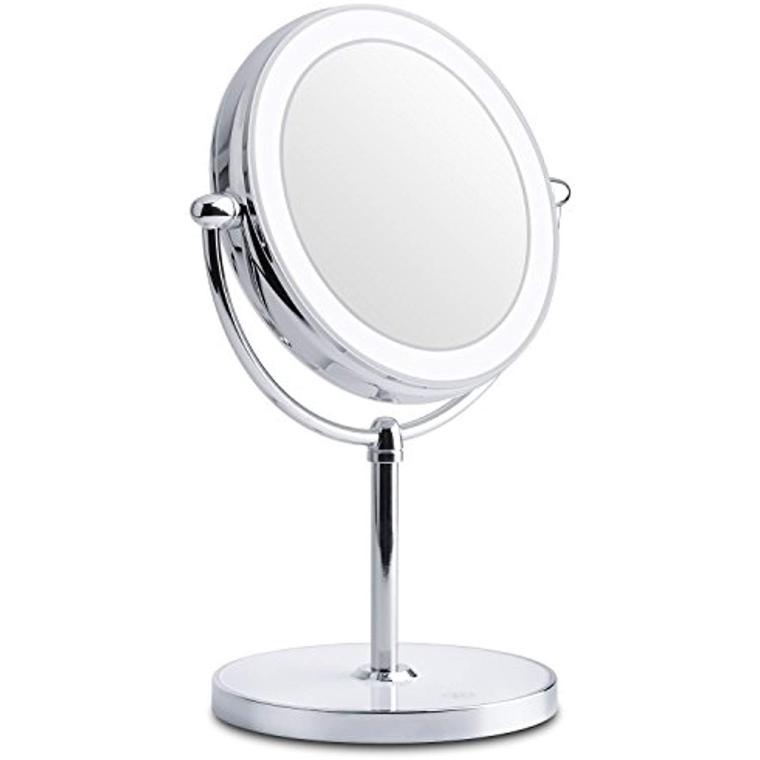 Lighted Makeup Mirror Double Sided Led Vanity Makeup Mirror 1x 7x