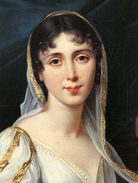 Desiree Clary by Robert Lefevre,1807   Female portrait, Portrait, Women