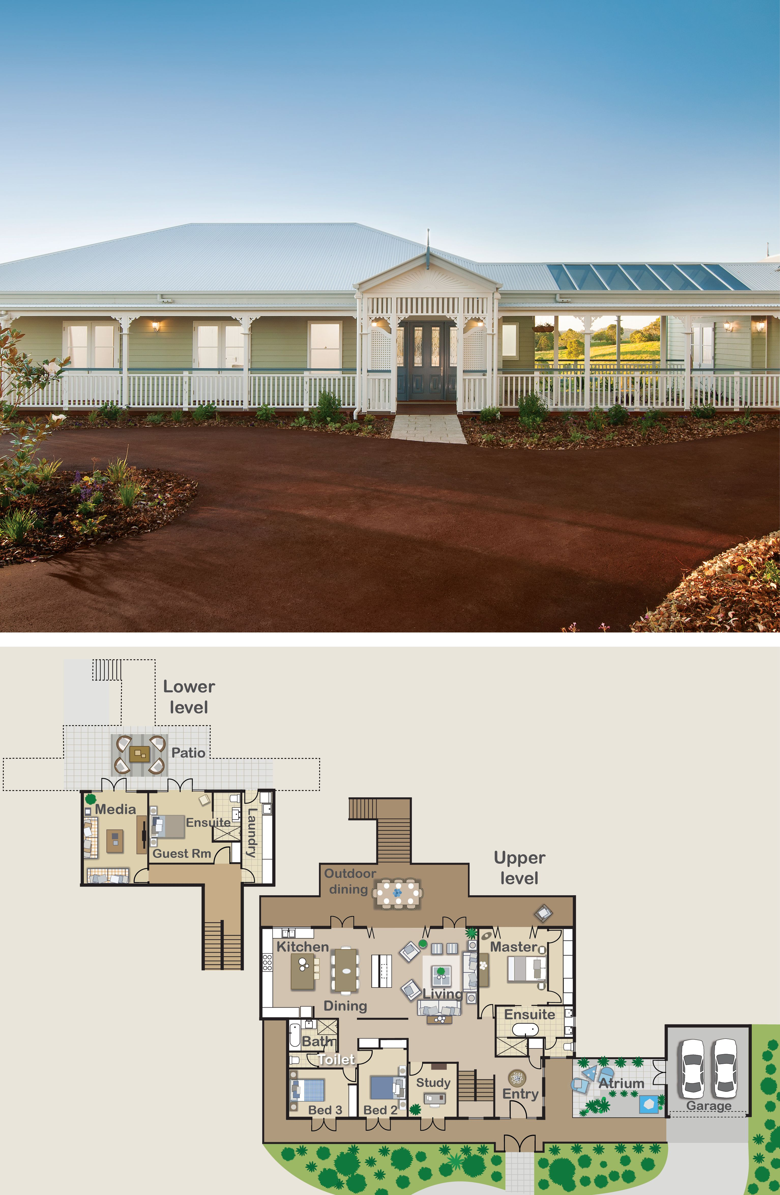 Love This Queenslander Style Floor Plan The Living Areas Open Up To The Veranda With Folding Doors Th Queenslander House Cool House Designs Home Design Plans