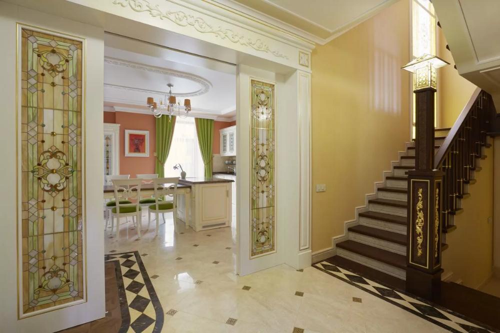 прихожая в доме с лестницей дизайн фото — Яндекс: нашлось ...
