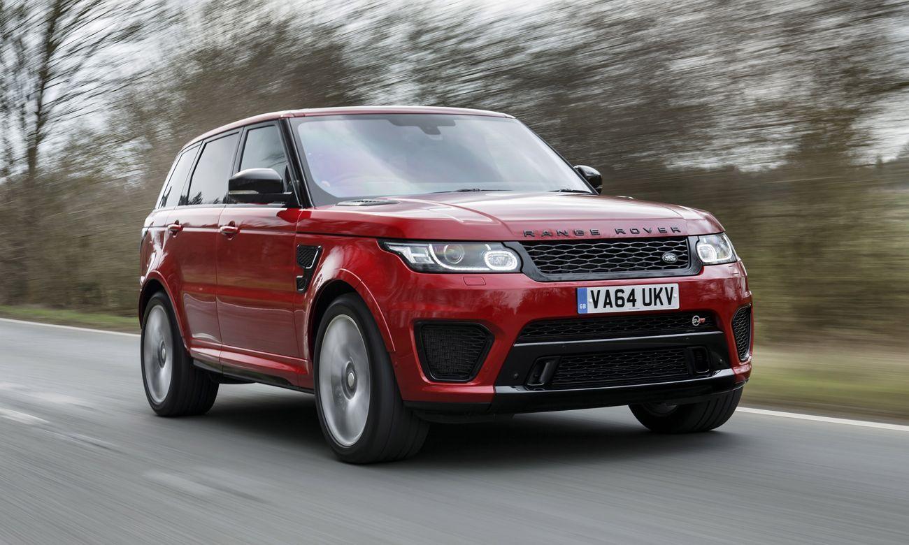 Britain's bestlooking cars Range rover sport, Range