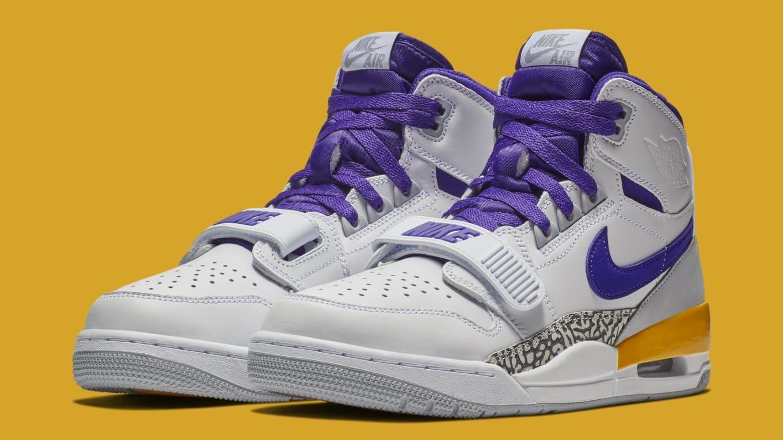 9cee2320ca0 Jordan Legacy 312  White Field Purple-Amarillo  AV3922-157 Release Date