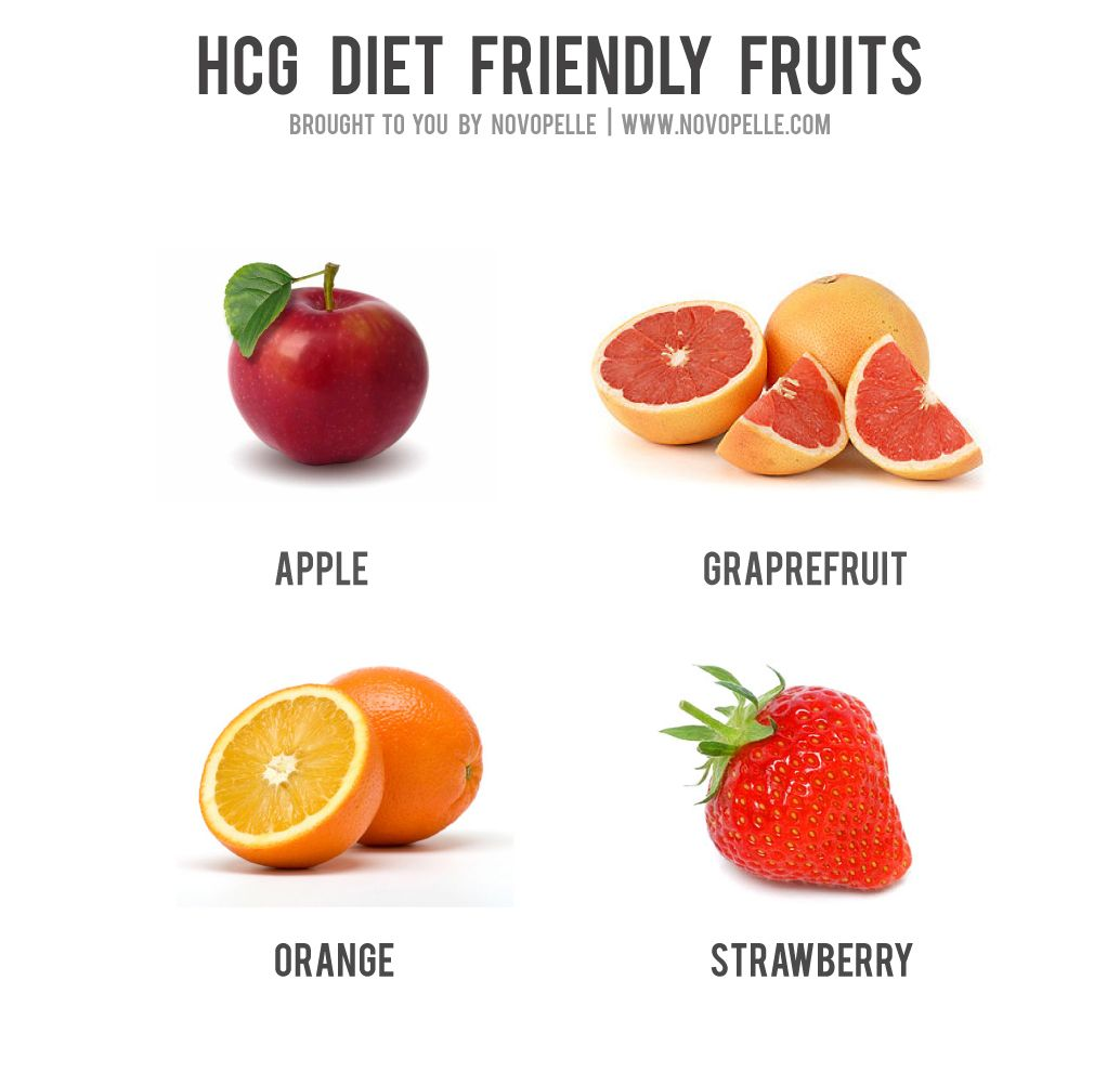 what can u eat on hcg diet
