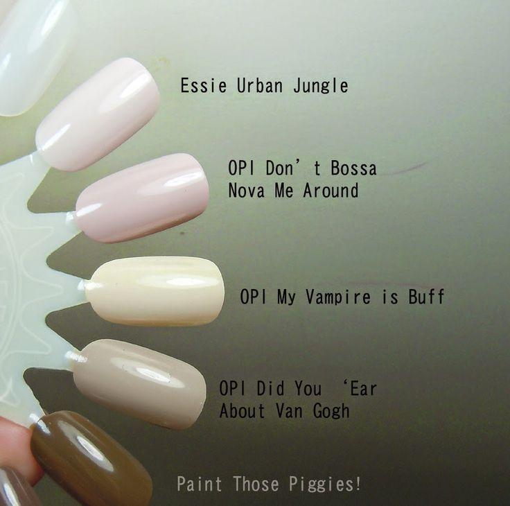 Essie Nail Color Urban Jungle: Pin By Donna McDermott On Nail Polish