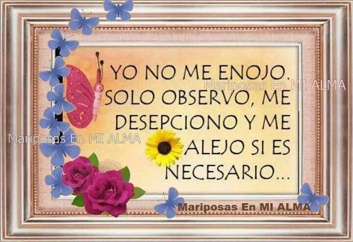 ♣¡ YO NO ME ENOJO. ..!♣