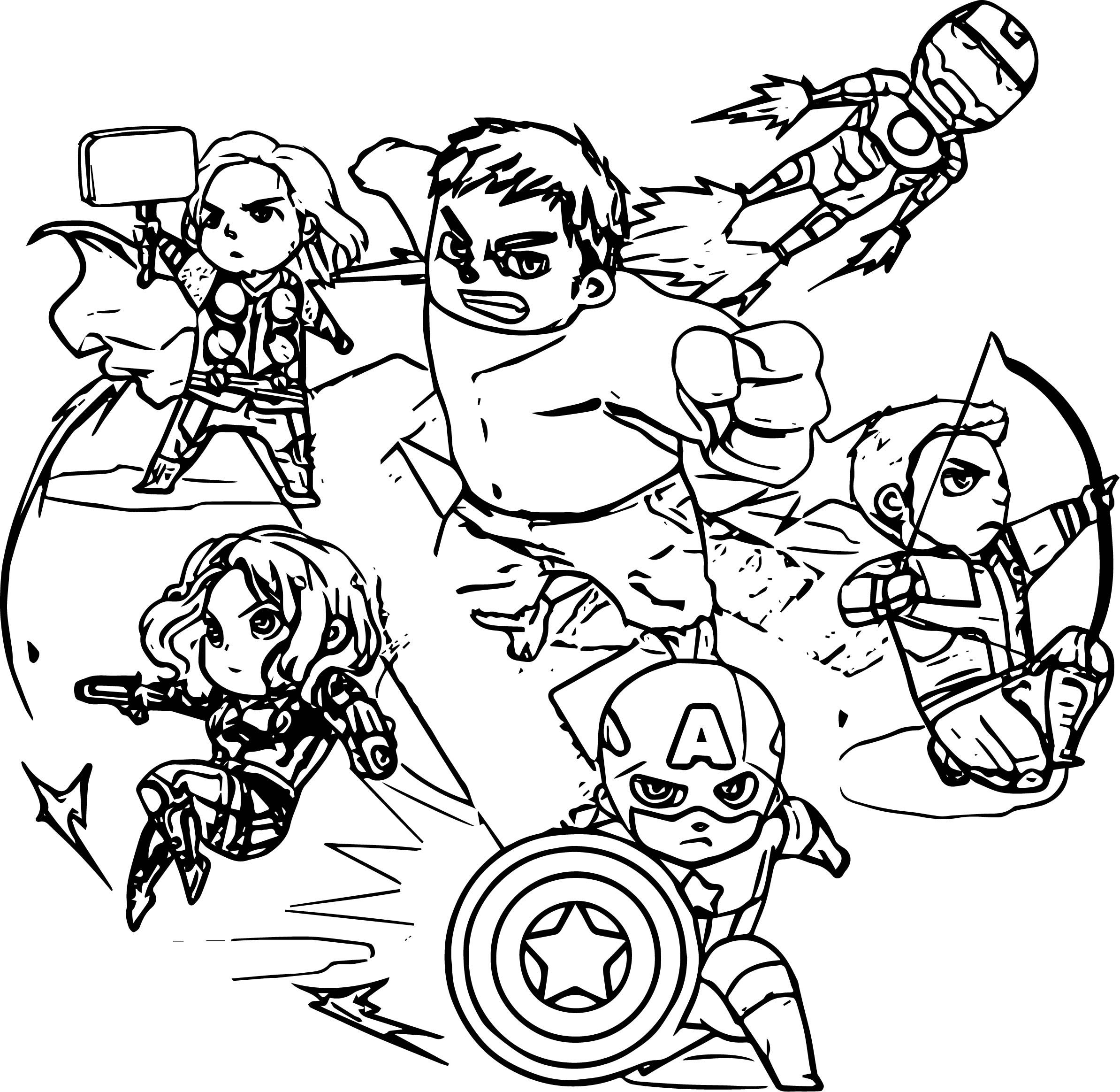 Download nice Avengers Fight Time Coloring Page | Coloring pages, Printable coloring pages