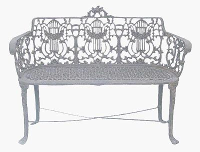 ... Furniture Rose Bench Suitable For Indoor Or Outdoor Use. These Are  Classic Reproduction Pieces And Will Match Your Existing Rose Furniture Made  In USA