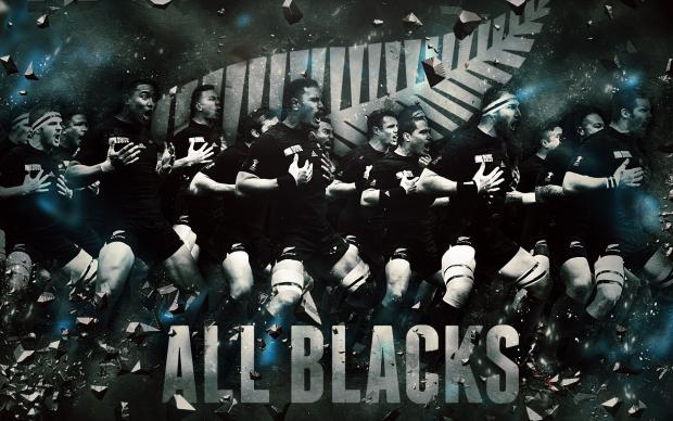 Nouvelle-Zélande All Blacks 2015 Coupe du Monde de Rugby Wallpaper.