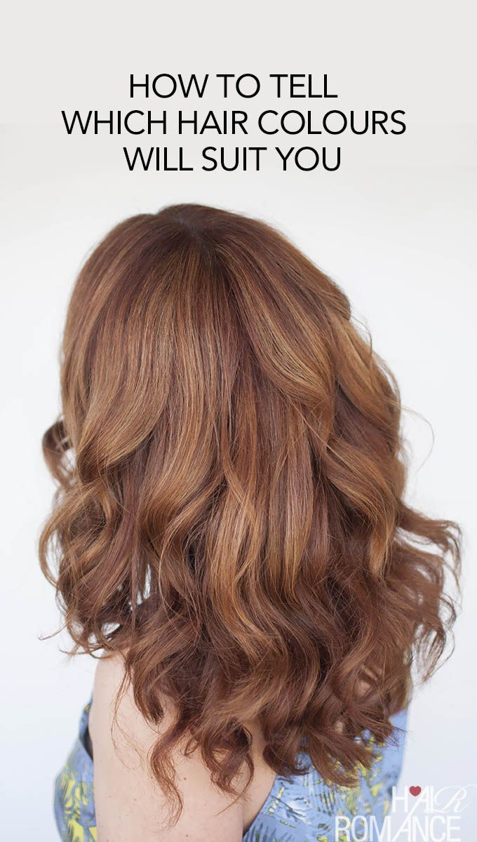 the easy way to find your perfect hair colour | hair | haarfarben