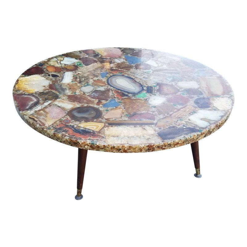Geode Agate Quartz Resin Coffee Table Products Table