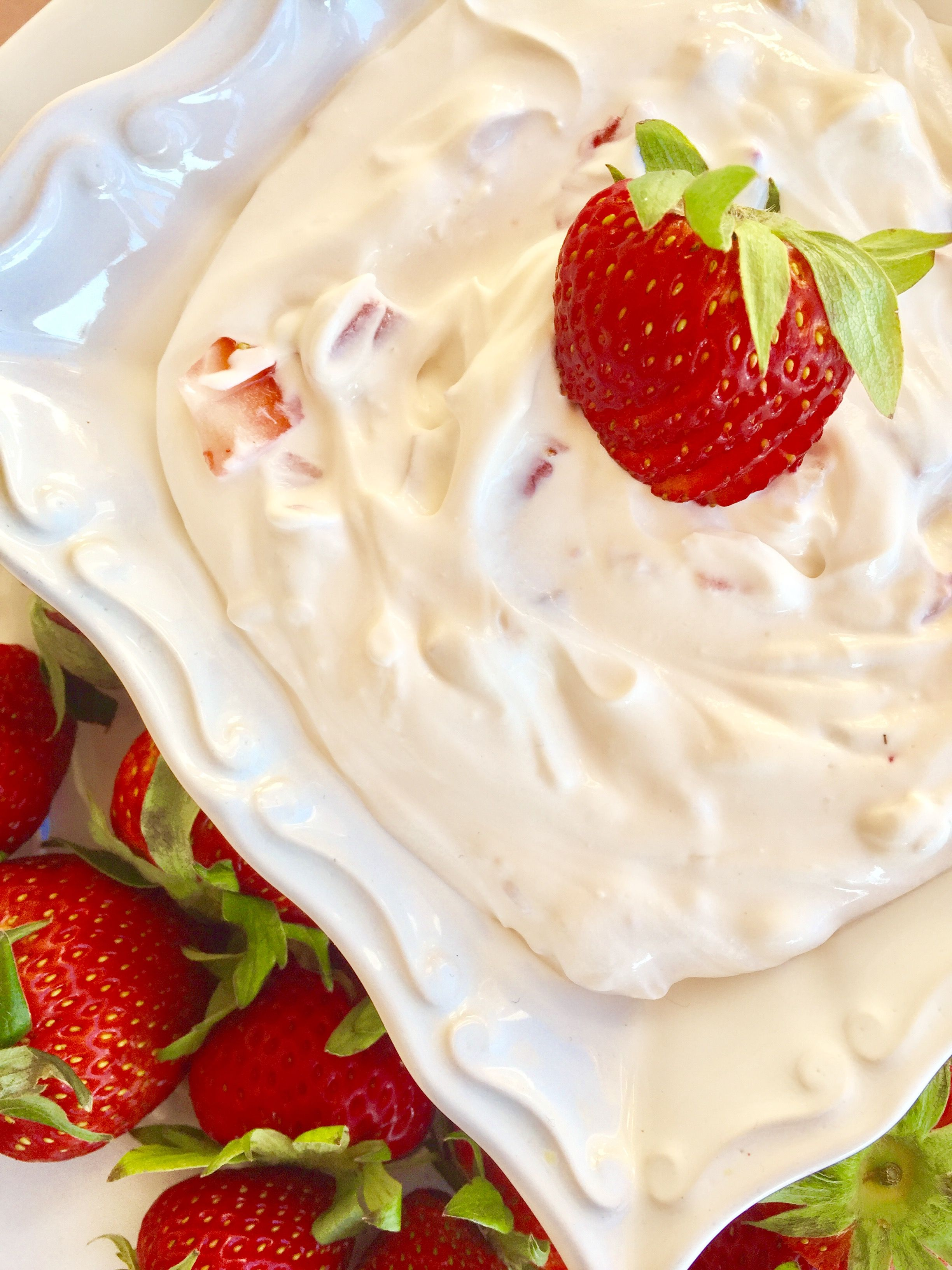 Strawberry Shortcake Dip// Kathryn's Kitchen