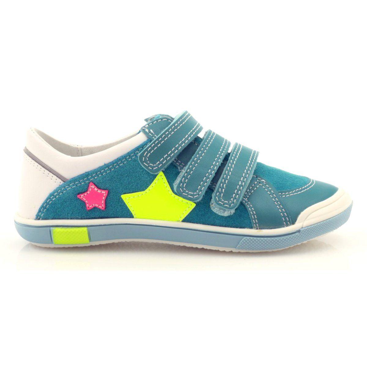 Polbuty Buty Dzieciece Na Rzepy Bartek 65421 Rozowe Zolte Niebieskie Biale Shoes Sneakers Fashion