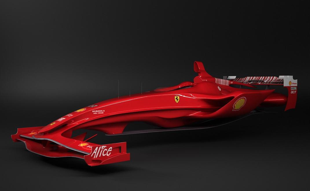 Hybrid Ferrari Hyper Car   A New Look At The Formula 1! Hybrid Ferrari Hyper