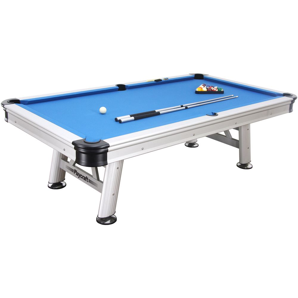 Playcraft Extera 8 Foot Outdoor Pool Table Outdoor Pool Table Pool Table 8 Pool Table