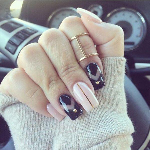 101 Simple Winter Nail Art Ideas for Short Nails | Winter nail art ...
