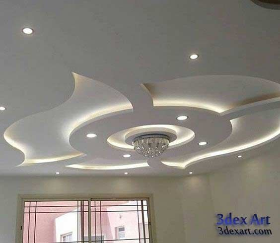 Modern False Ceiling Designs For Living Room And Hall 2018