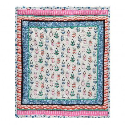 Le Decke zweiseitige decke print natur le petit lucas du tertre