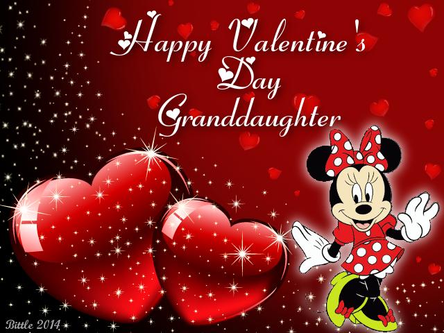 Happy Valentines Day Granddaughter valentines day valentines day – Granddaughter Valentine Card