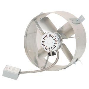 Ventamatic Cool Attic 1650 Cfm Energy Efficient Power Gable Mount Attic Vent Cx2500ups With Images Ceiling Exhaust Fan Attic Vents Attic Fan