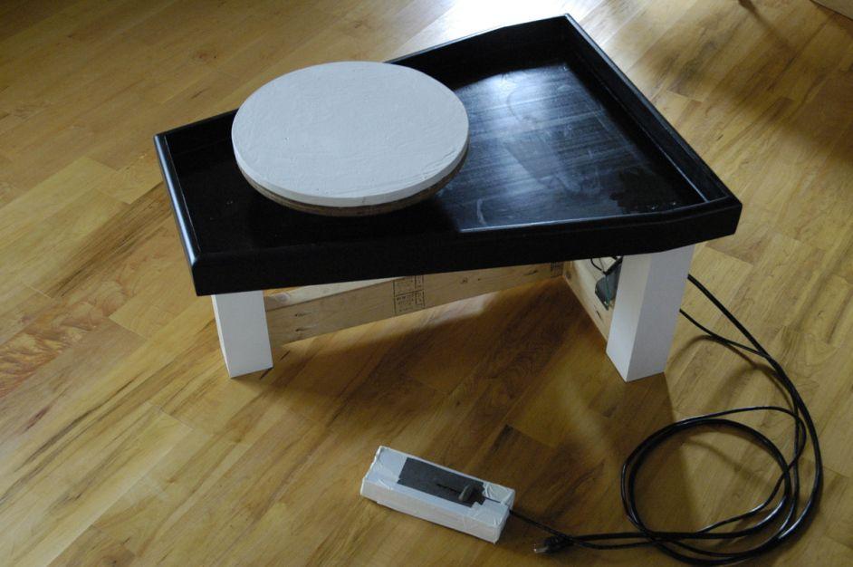 Diy potters wheel pottery wheel diy electric pottery