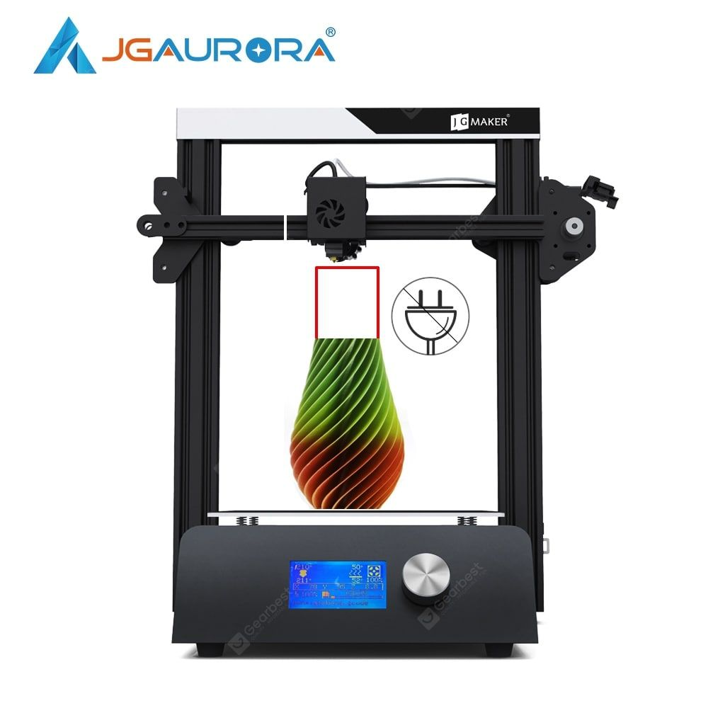 JGAURORA JGMAKER Magic 3D Printer Aluminium Frame Diy Kit