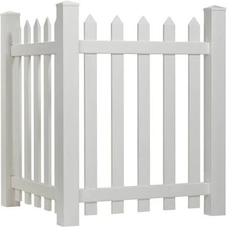 White Plastic Garden Fence Panels   Google Search