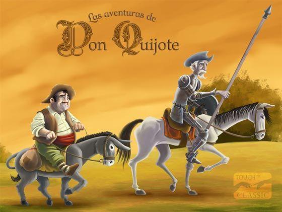 Las Aventuras De Don Quijote En Ipad Con Imagenes Quijote De