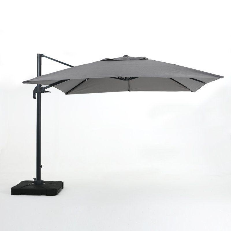 Wardingham 9 8 Square Cantilever Umbrella Aluminum