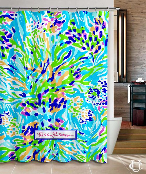 Pretty Lilly Pulitzer New Hot Custom Shower Curtain