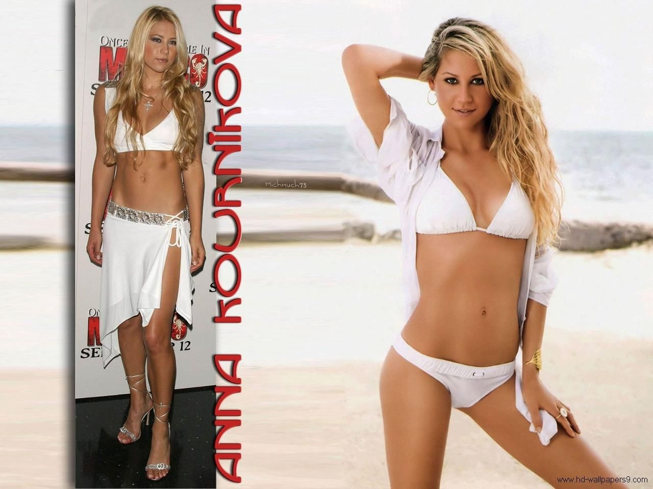 High Definition Collection Anna Kournikova Wallpapers Full HD