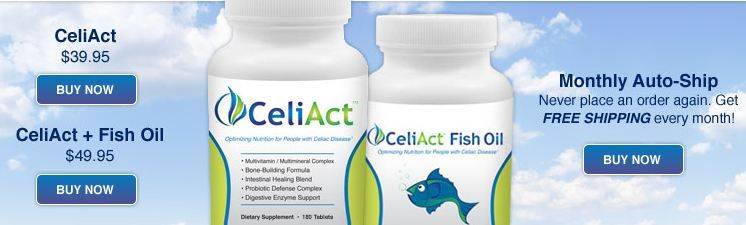 CeliAct: The #1 Nutritional Supplement Just for People ...