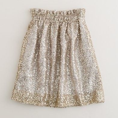 sparkly skirt for the holidays