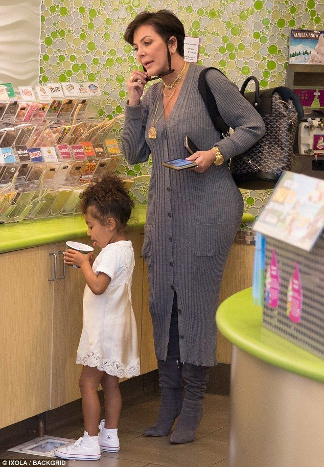 Cousins Penelope Disick and North West treated to