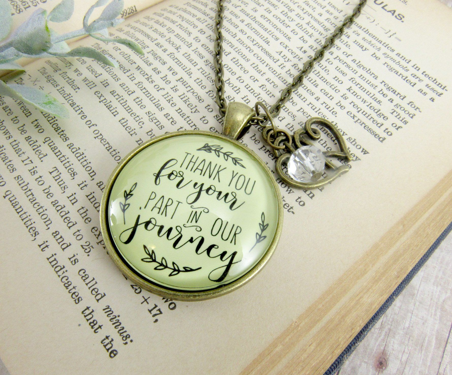 """24"""" Wedding Officiant Gift Necklace Thank You For Your"""