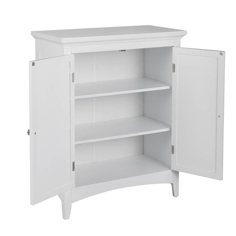 Broadview Park 26 W X 32 H X 13 D Free Standing Bathroom Cabinet In 2020 Free Standing Cabinets Bathroom Shelf Cabinet Bathroom Standing Cabinet