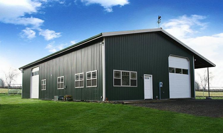 a 50x100 steel building is probably one of the most common