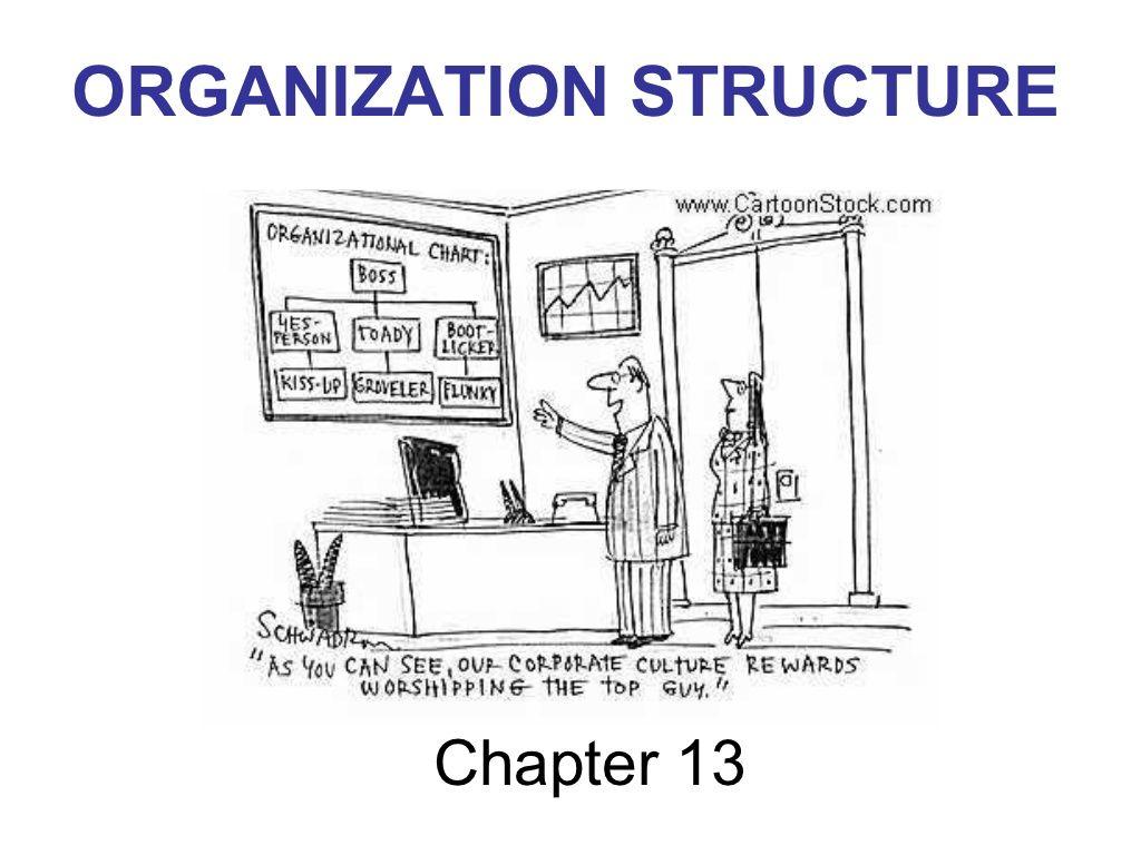 Organizational Structure In Detail