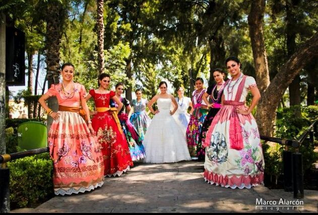 Bridesmaids Escaramuza Dress Mexican Dresses Spanish Wedding Our Themes