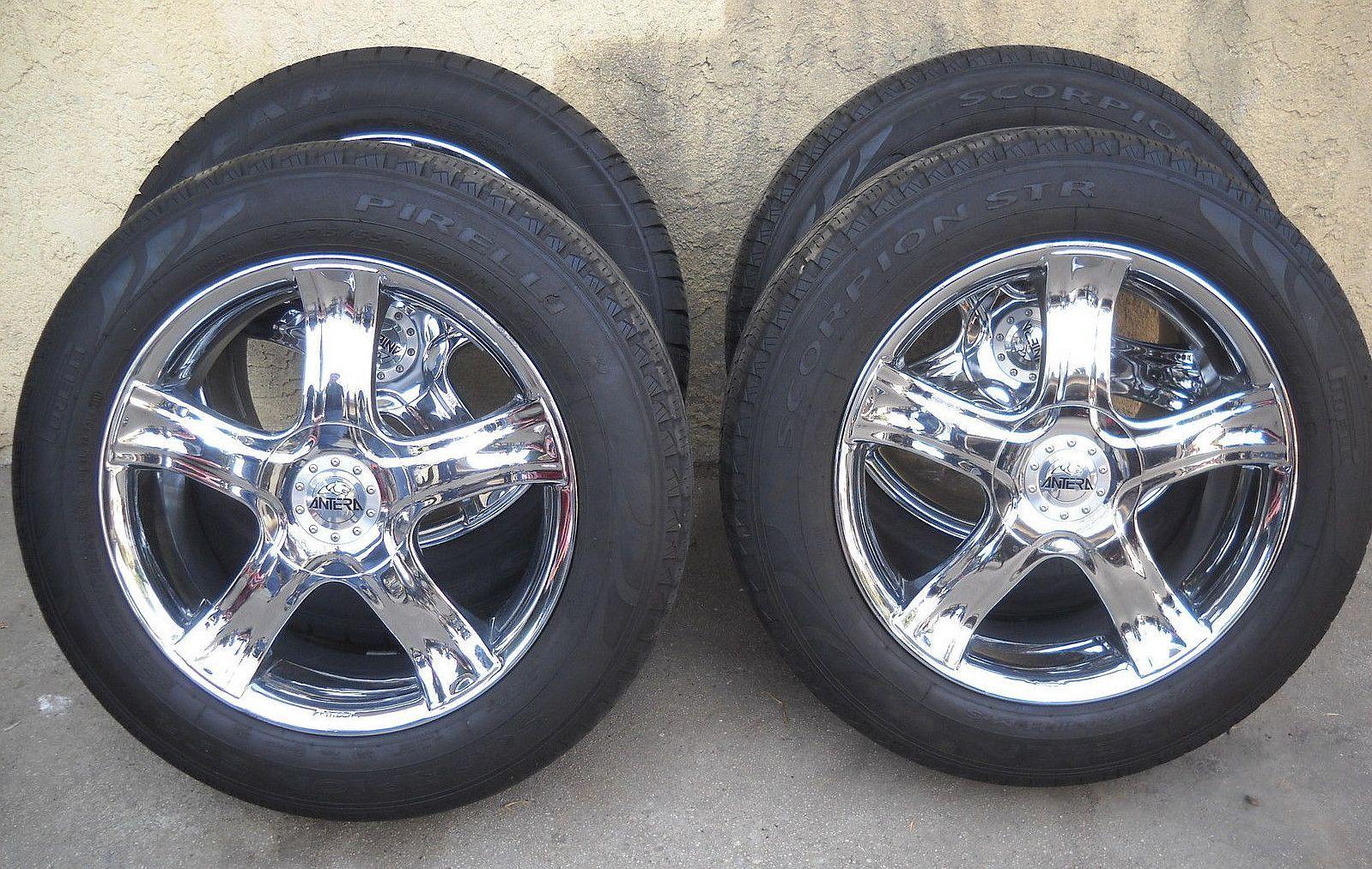 Antera Rims Pre Owned Model 235 20 Inch Chrome Wheels Mustang Wheels Alloy Wheels Cars Alloy Wheel [ 1013 x 1598 Pixel ]