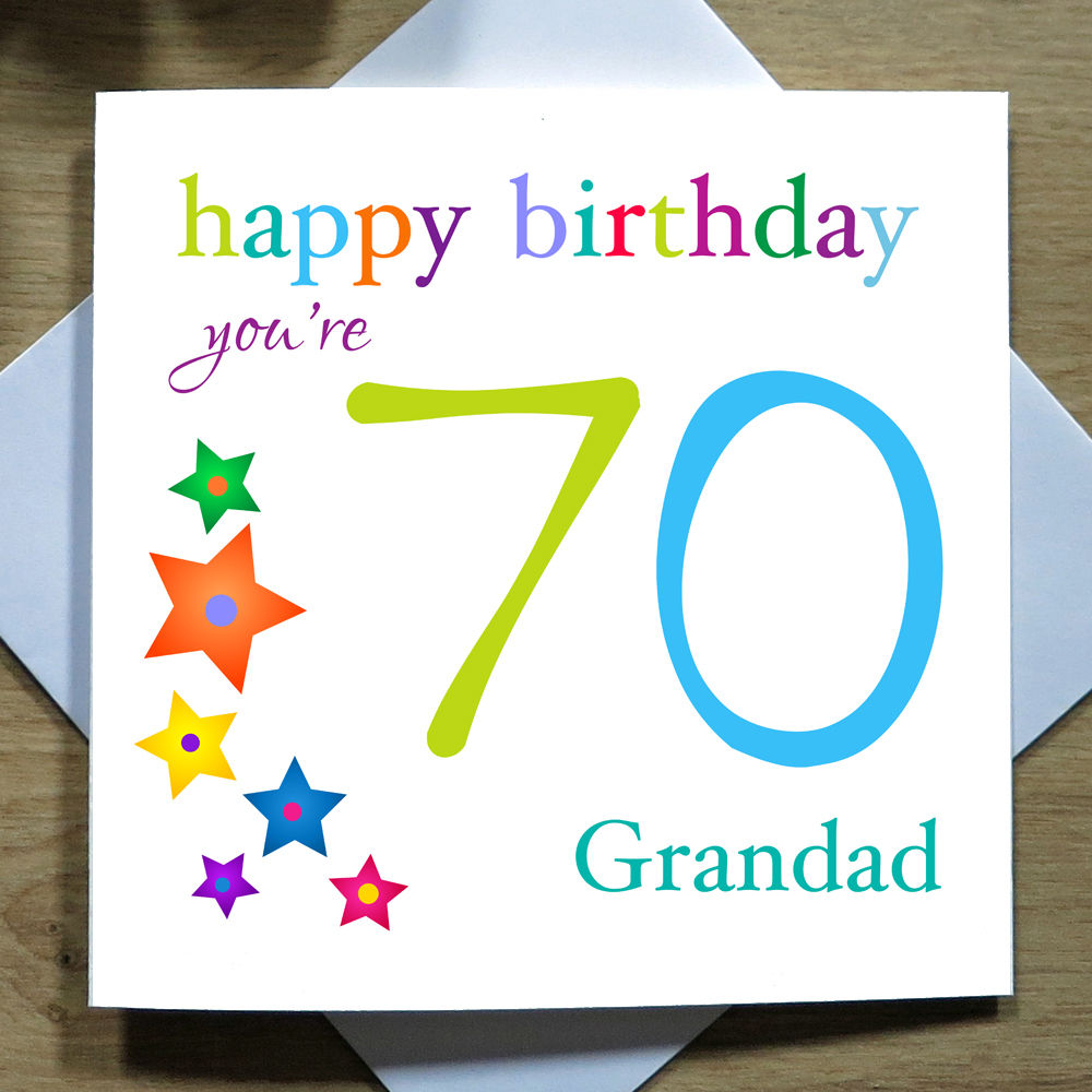 Personalised handmade th birthday card male dad daddy son