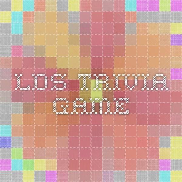 lds trivia game | lds [young women] | Lds sunday school