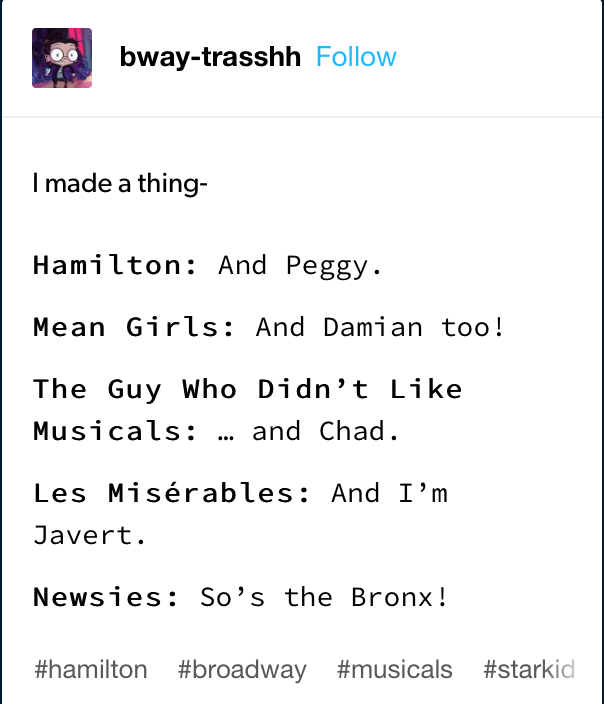 Pin By Lizard Wizard On Theatre In 2020 Theatre Kids Funny Theatre Jokes Musicals Funny