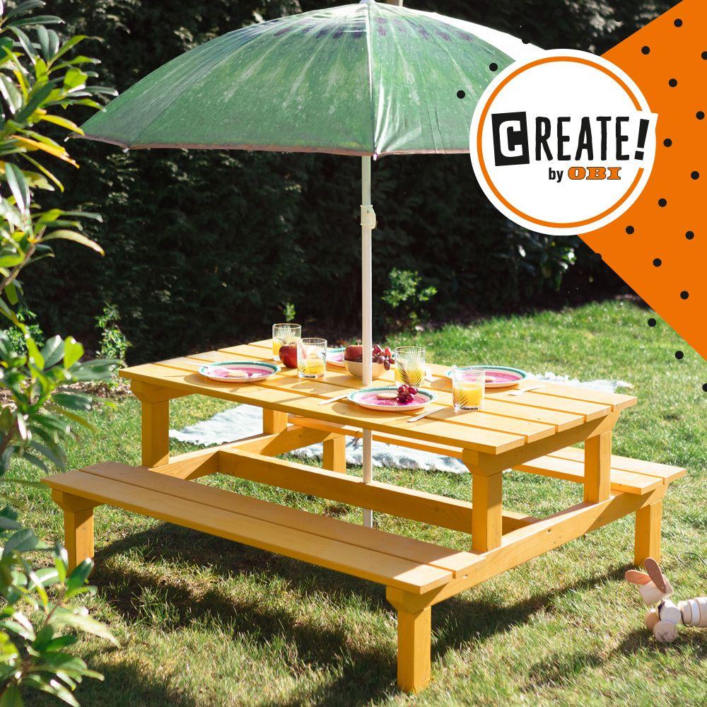 Garten Kindersitzgruppe Momo Create By Obi Kindersitzgruppe Garten Tipi Selber Bauen Kinder Garten