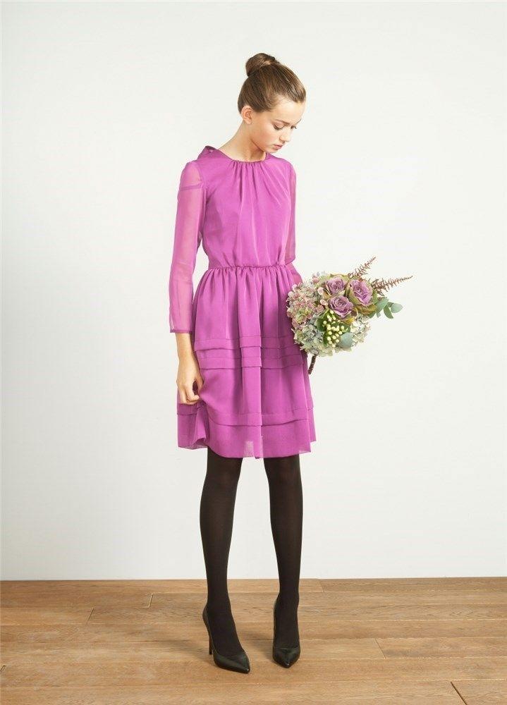 20 vestidos cortos para ir a una boda de otoño- invierno | Vestido ...