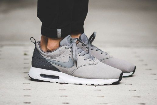 free shipping 0b77e cf0f5 Cool Grey Swathes This Nike Air Max Tavas With A Suede Upper