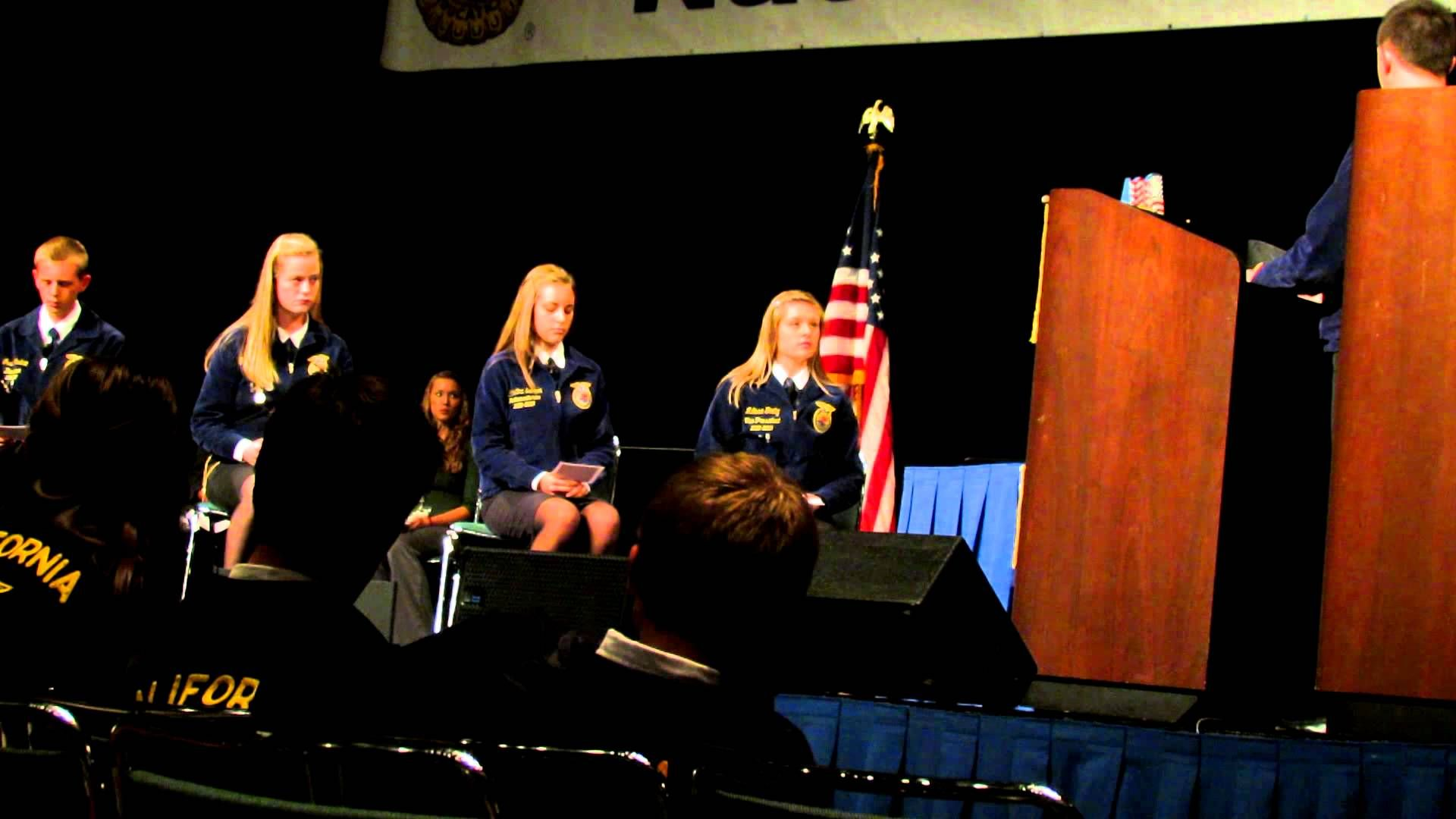 Meridian FFA Chapter Parliamentary Procedure At 2012